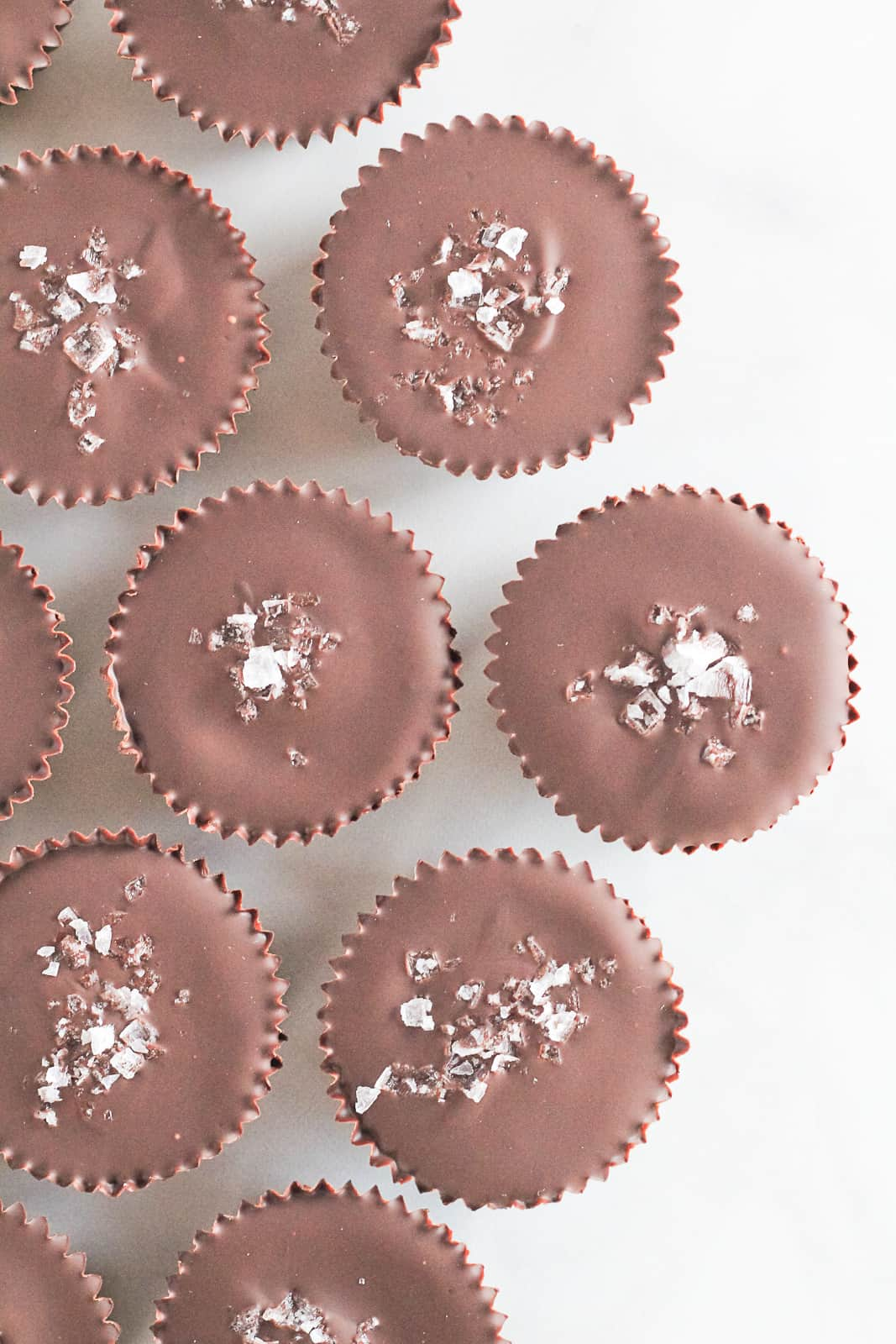Healthy Dark Chocolate Almond Butter Cups