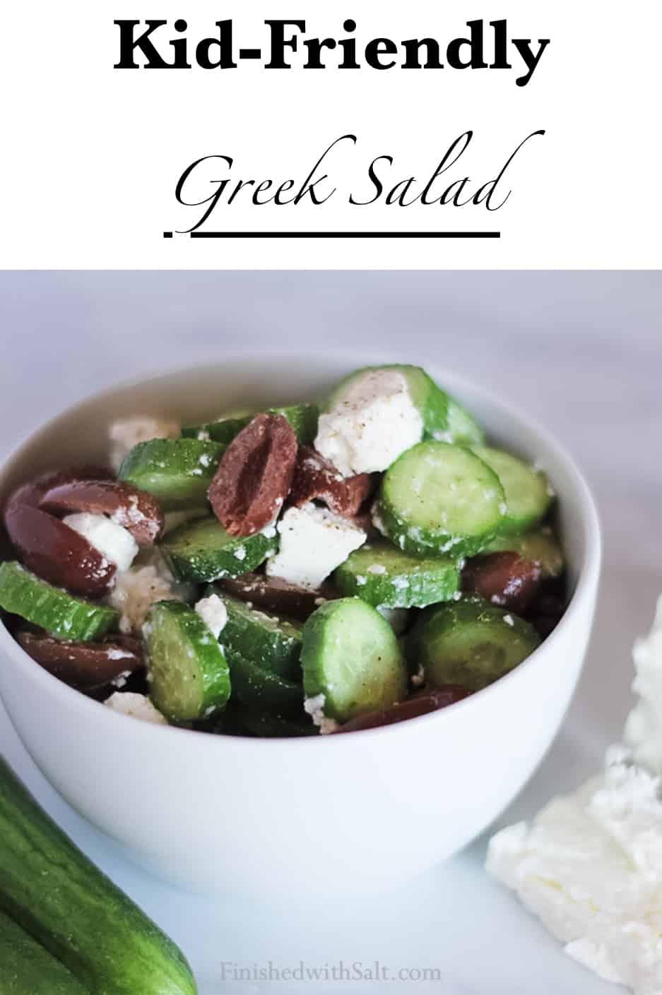 Kid-Friendly Greek Salad