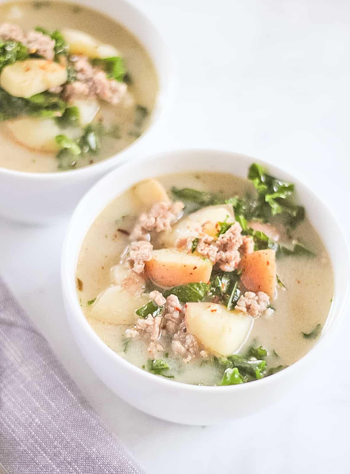 Whole30 Zuppa Toscana Soup
