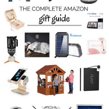 The Complete Amazon Gift Guide For the Whole Family.